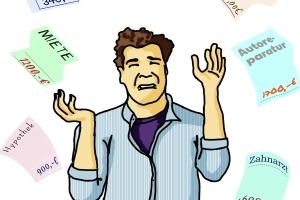 Einem Gläubiger Geld zu schulden, wird erst zum Problem, wenn Sie dieses nicht zurückzahlen können.