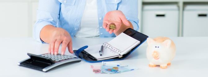 Auch Privathaushalte können Haushaltsschulden machen.