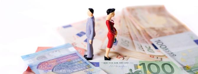 Auch eine Scheidung kann zur privaten Insolvenz führen.