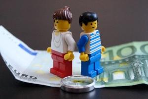 Auch eine Scheidung kann zu Schulden führen.