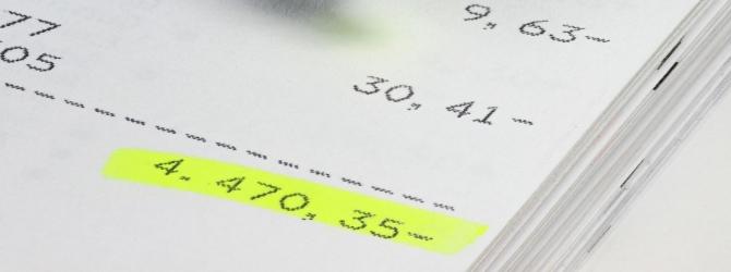 Ob ein Umschuldungskredit sinnvoll ist, hängt auch von der Kredithöhe ab.