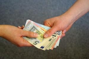 Auch bei einer Unternehmensinsolvenz werden die Gehälter in der Regel gezahlt.