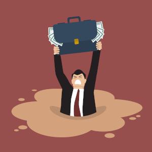 Nur vorsätzlicher Bankrott ist strafbar, d. h.  der Schuldner muss sich seines Handelns und seiner finanziellen Krise bewusst sein.